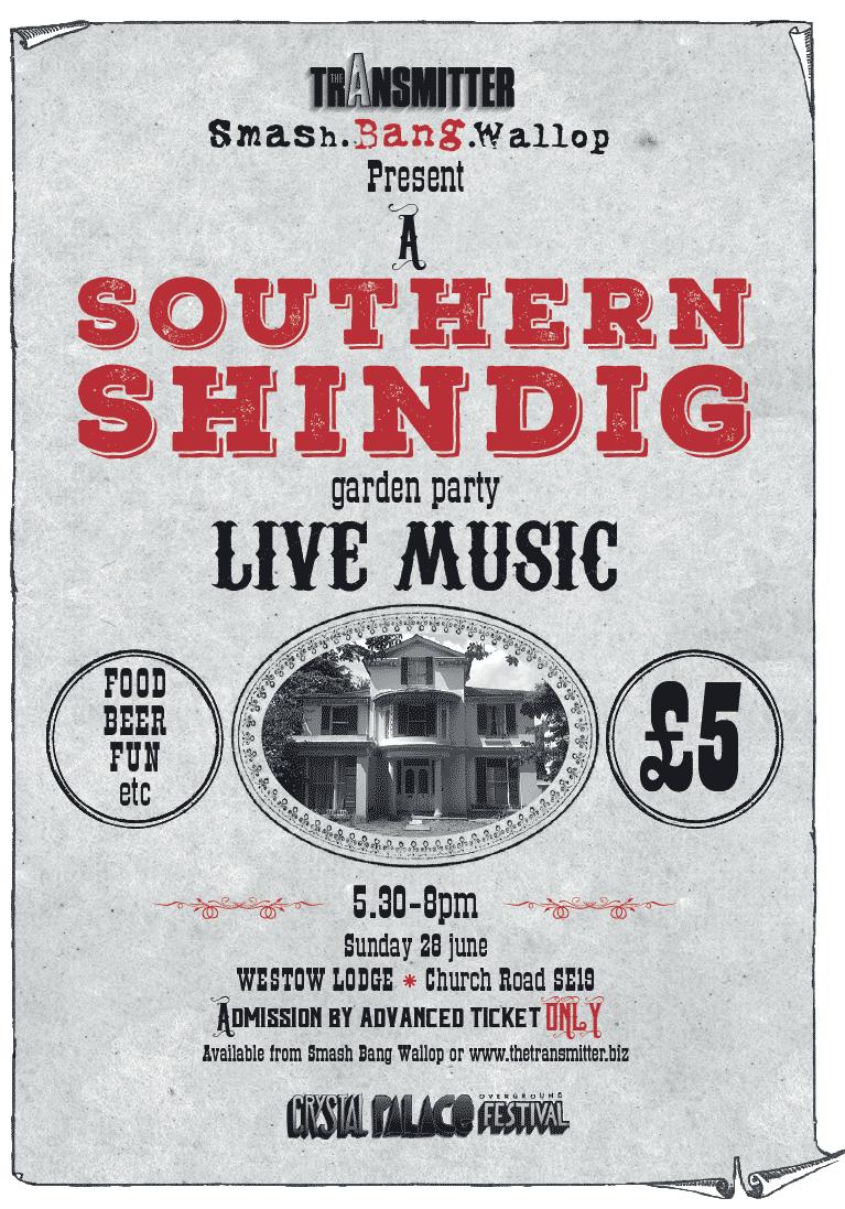 A Southern Shindig Poster